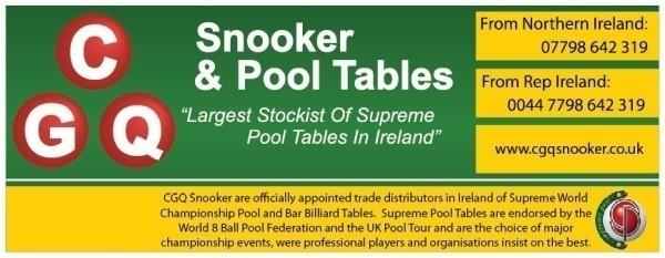 Authorised Stockist – Snooker & Pool Tables