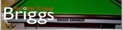 Authorised Stockist – Briggs Snooker